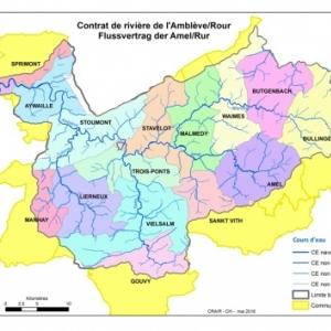 Carte generale bassin Ambleve-Rour