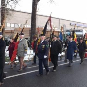 Les delegations de drapeaux