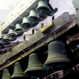 Les cloches du carillon  ( Photo F.Detry )