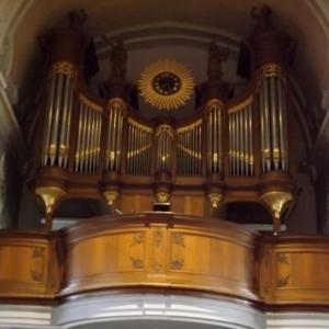 Les orgues de l'eglise