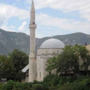 Mostar : mosquee de Koski Mehmet Pacha