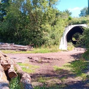 Le tunnel sous l'autoroute