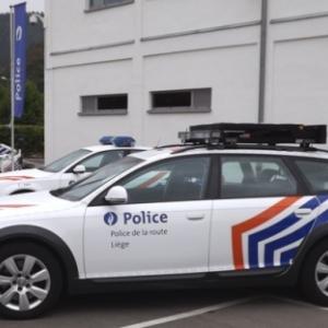 Les vehicules d'intervention de la police des autoroutes