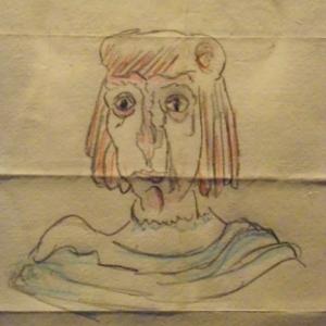 """James ENSOR  """" Grotesque """""""