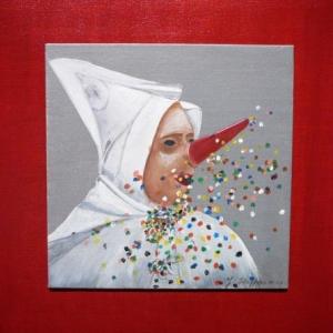 Gouache et acrylique sur toile et sur papier  de Jocelyne Steffens - Ziant
