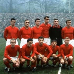 Standard 1961 - 1962 avec Léon Semmeling, Jean Nicolay, Marcel Paeschen, ....