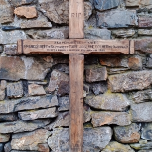 La Croix des Fiancés originelle préservée à Solwaster