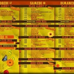 """MALMEDY        5ème édition du festival """" Vibrations"""""""