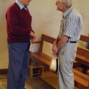 M. Moor, President, en conversation avec notre guide