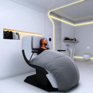 Chambre d'hopital en 2030