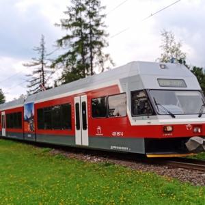 Le train de liaison ( photo : F. Detry )