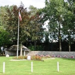 2014  Le mémorial élevé sur le site du massacre de Baugnez
