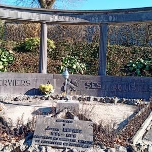 21) « Verviers à ses Artistes ».   ( Photo F. Detry )