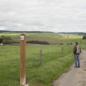 Un nouveau système des points-noeuds de la randonnée (photo Eastbelgium )