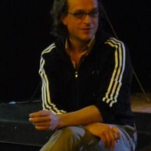 Serge Demoulin durant la conference de presse