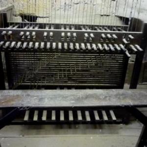 """Le clavier du carillon manuel utilise lors du """" Triboledge """" en octobre"""