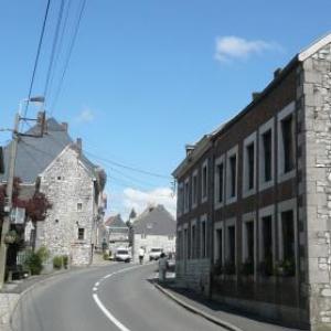 La rue principale de la petite localite