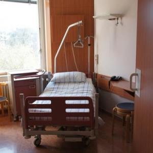 34. Une chambre de l'hopital de semaine