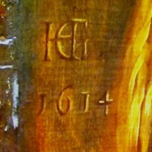 Le monogramme et la signature
