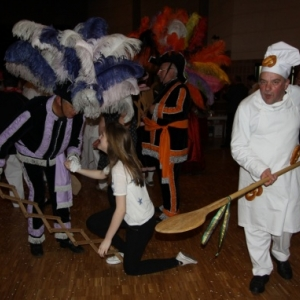 Animations carnavalesques  ( Photo de Ch. Marechal )