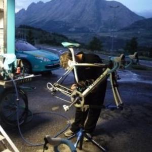 Les mecaniciens au travail