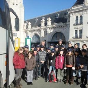 Arrivee a La Rochelle