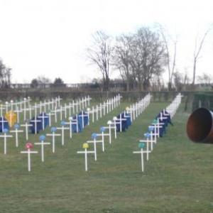 Pour rappel : le Memorial du Mepris ( à Helivy - Jalhay ( Jean Pirnay )