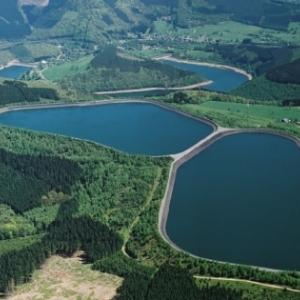 Les lacs de la centrale
