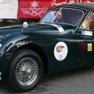 Maroc Classic Jaguar XK 120 de 1952
