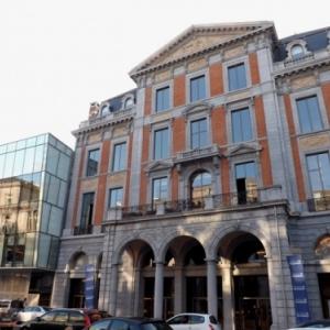 Liege : le nouveau Theatre de la Place qui occupe le celebre batiment de l' Emulation