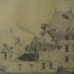 L'hopital de Baviere ( 1878 ) : don d'Ernest de Baviere a la Compagnie de Misericorde pour y etablir un hopital