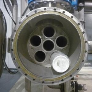 Les 5 lignes de nonofiltration traitent 2400 m³ / heure