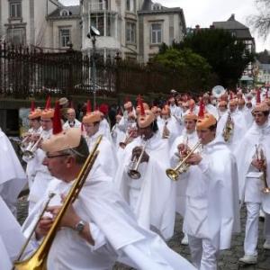 """Royale Harmonie """"L'Emulation"""" ( Musique officielle des Blancs Moussis - Stavelot )"""