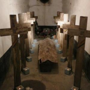 Chapelle a l interieur du fort