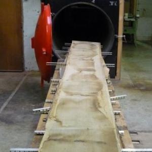 La manufacture d'orgues : sechage des bois