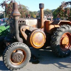Tracteur ancetre