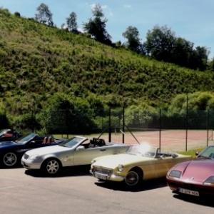Les voitures du Rotary Malmedy Hautes Fagnes