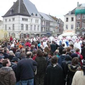 La foule lors du rondeau final