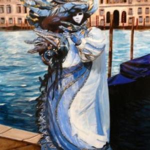 Acrylique et gouache de Francoise Schaus