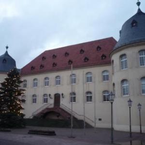 Le chateau de Bad Bergzabern, station balneaire )