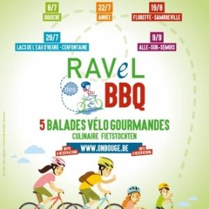 """Du 8 juillet au 9 septembre : partez dans l'ambiance conviviale des """"RAVeL des BBQ"""","""