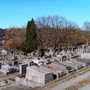 42) Le cimetière de Verviers   ( Photo F. Detry )