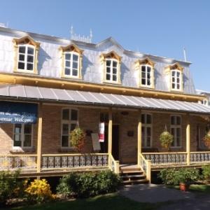 La Maison de nos aieux a Montmorency sur l'ile d'Orleans
