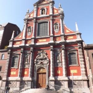 Liege : Eglise dans le quartier de Feronstree