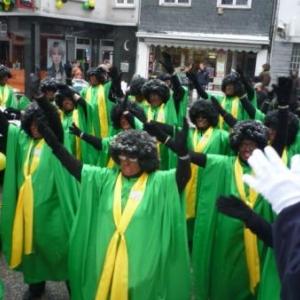 """""""Les Nin Gros Spirituwols"""" en prestation publique"""