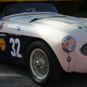 Maroc Classic Austin Healey 100S Sebring de 1955