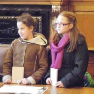 Deux representantes de l'ecole de Geromont
