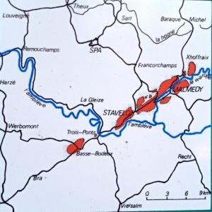 Le territoire du « poudingue de Malmedy »