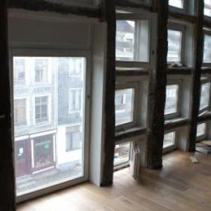 Le second etage en cours d'achevement