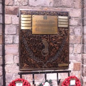 Le memorial polonais de la halle aux raps